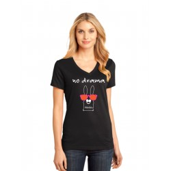 No Drama V-Neck Tee CLOSEOUT SALE