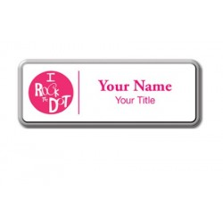 Personalized Name Badge - Rectangle