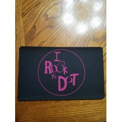 I Rock the Dot Mouse Pad